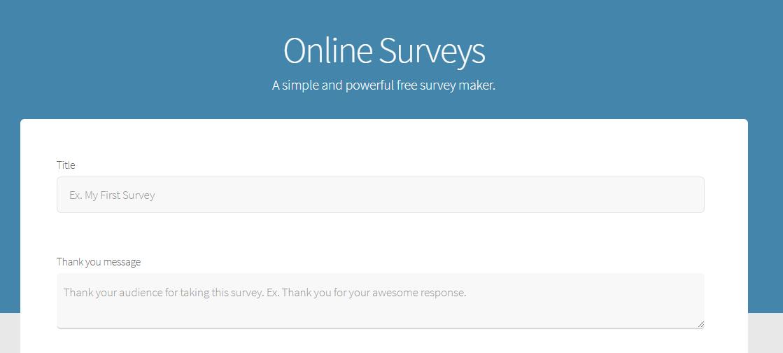 free survey maker steemhunt